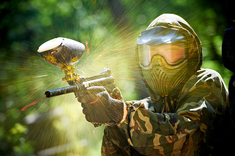Paintball et aventures